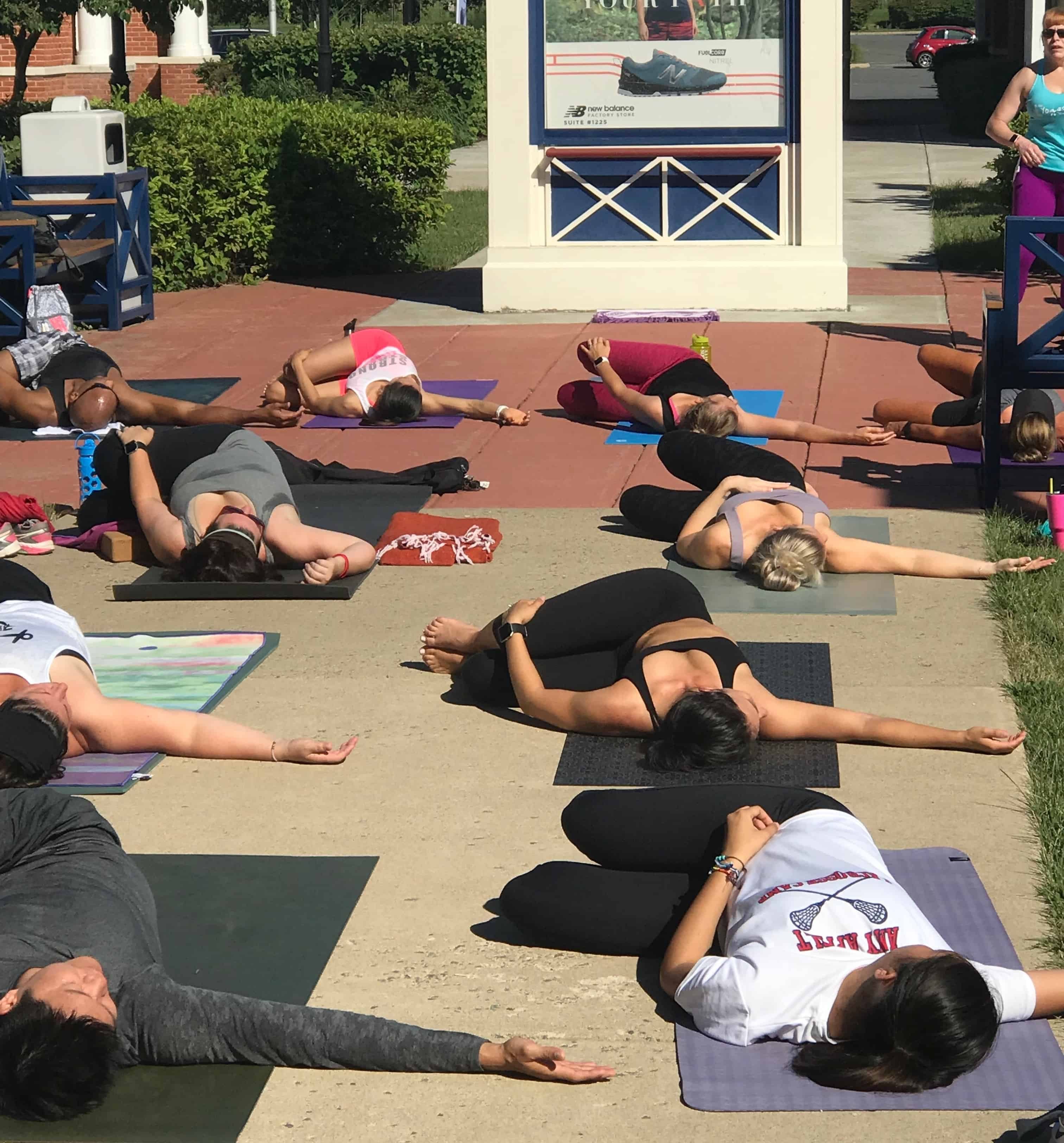 Free to Be Outdoor Class ~ July 2018